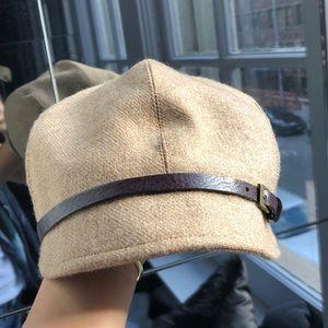 Paper boy style hat